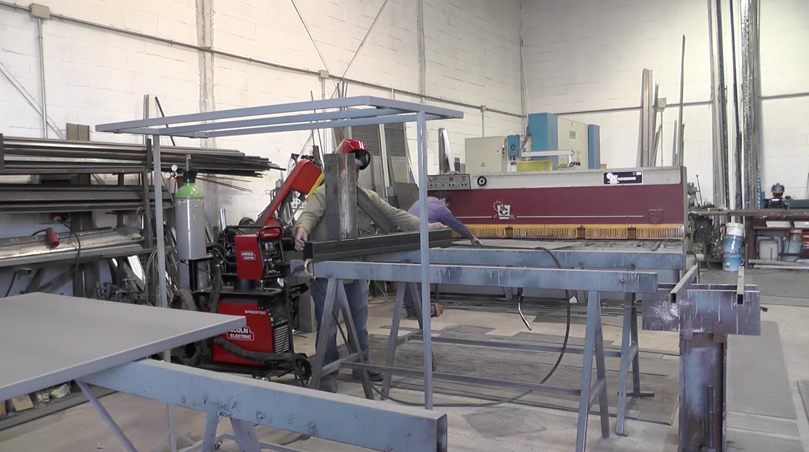 Metallic Carpentry Workshop